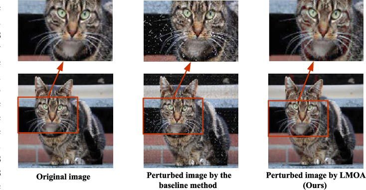 Figure 1 for Attention-Guided Black-box Adversarial Attacks with Large-Scale Multiobjective Evolutionary Optimization