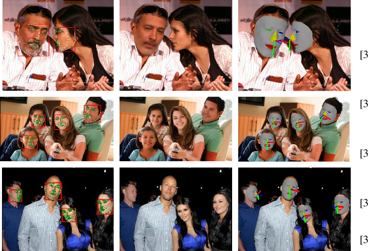 Figure 3 for Weakly-Supervised Multi-Face 3D Reconstruction