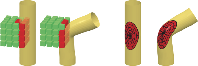 Figure 1 for Learning shape correspondence with anisotropic convolutional neural networks