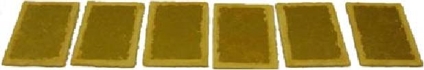 Figure 7. Sealed edge DBC substrate samples