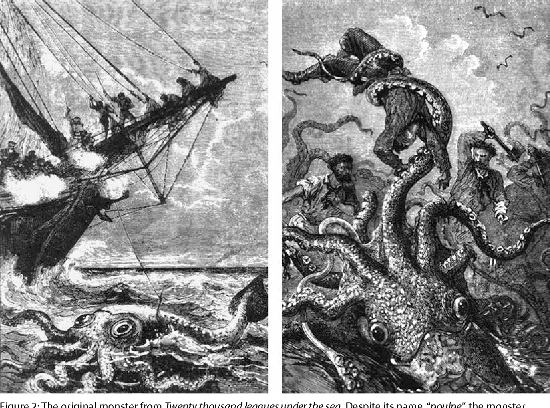 Figure 2 From The Kraken When Myth Encounters Science