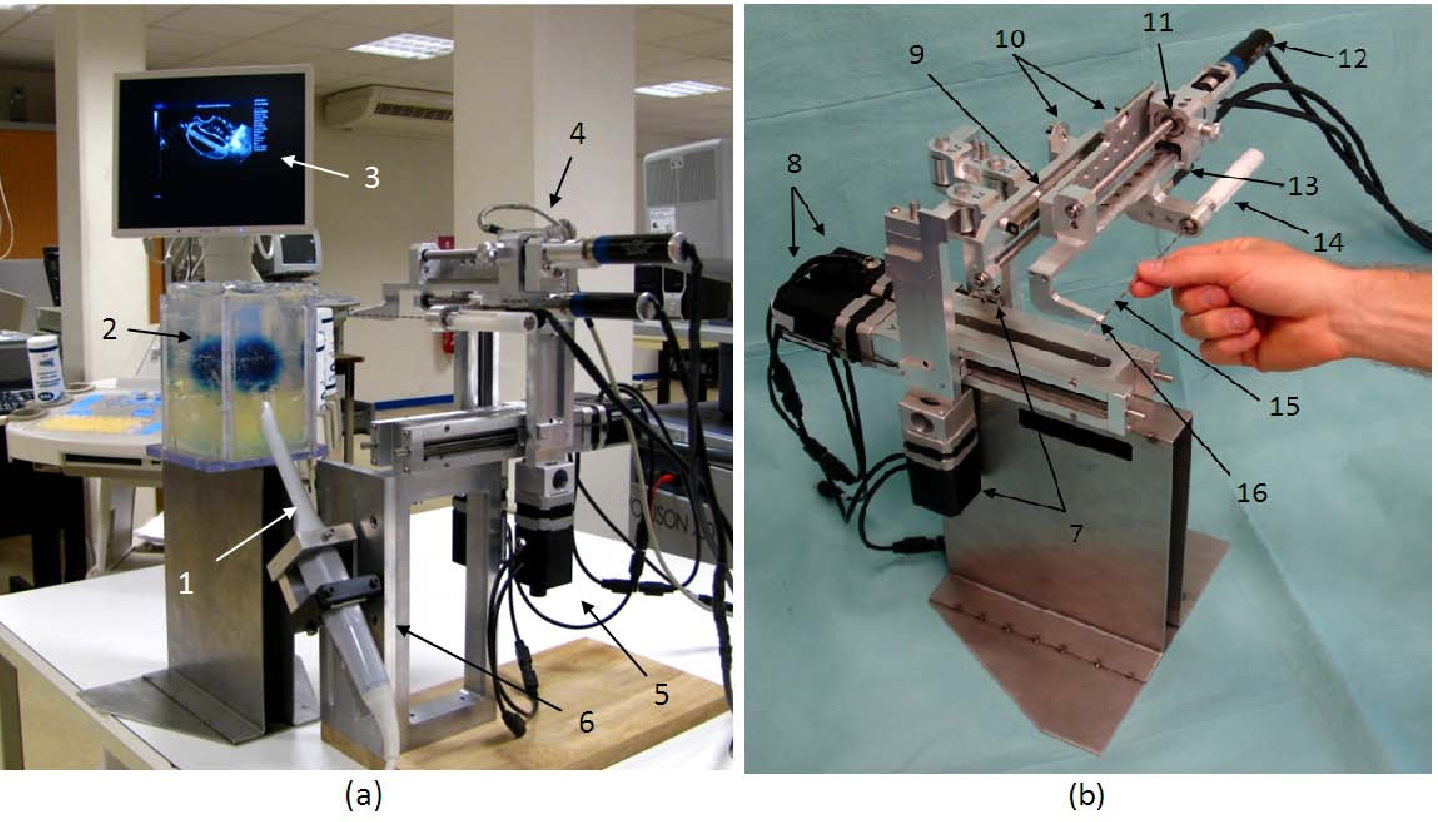 Figure 3 for Development of a Novel Robot for Transperineal Needle Based Interventions: Focal Therapy, Brachytherapy and Prostate Biopsies