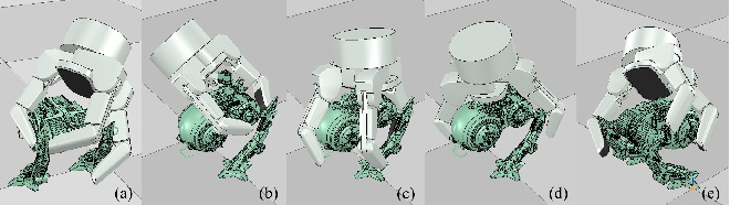 Figure 4 for Optimization Model for Planning Precision Grasps with Multi-Fingered Hands