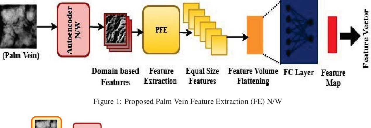 Figure 1 for PVSNet: Palm Vein Authentication Siamese Network Trained using Triplet Loss and Adaptive Hard Mining by Learning Enforced Domain Specific Features