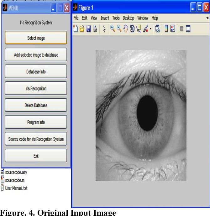 PDF] Human Iris Recognition User Interface using MATLAB 7