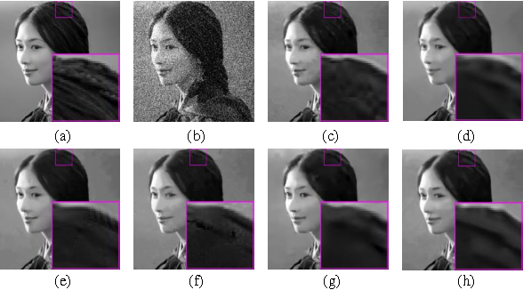 Figure 4 for Image denoising via group sparsity residual constraint