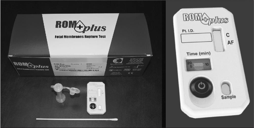 PDF] Diagnosing rupture of membranes using combination