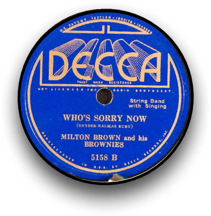 Figure I from Western Swing in Transcription: Who's Sorry
