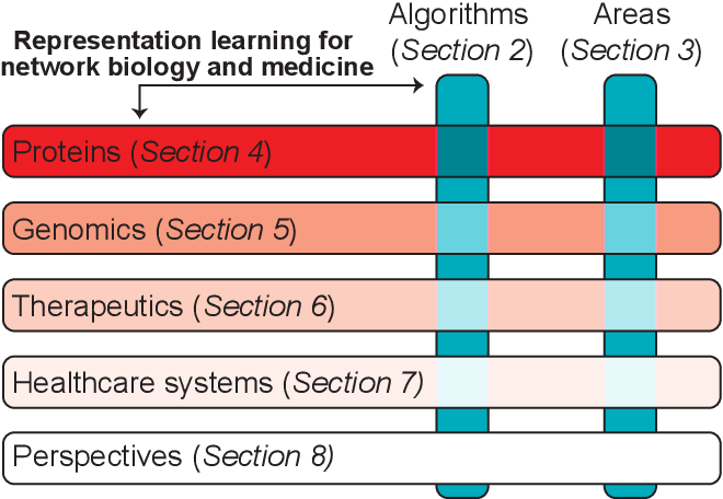 Figure 3 for Representation Learning for Networks in Biology and Medicine: Advancements, Challenges, and Opportunities