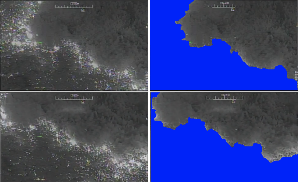 Figure 1 for FireNet: Real-time Segmentation of Fire Perimeter from Aerial Video