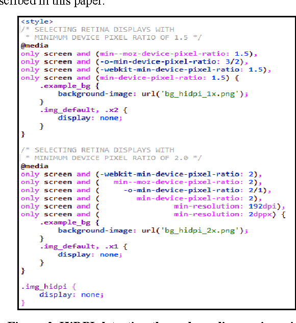Figure 3 from CSS browser selector plus: a JavaScript library to