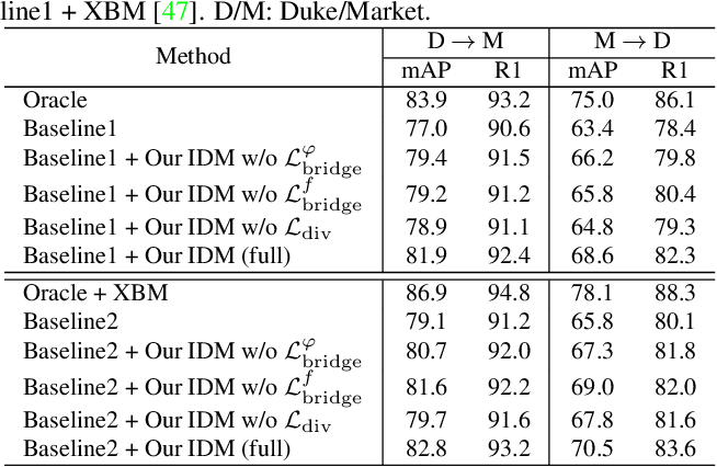 Figure 2 for IDM: An Intermediate Domain Module for Domain Adaptive Person Re-ID
