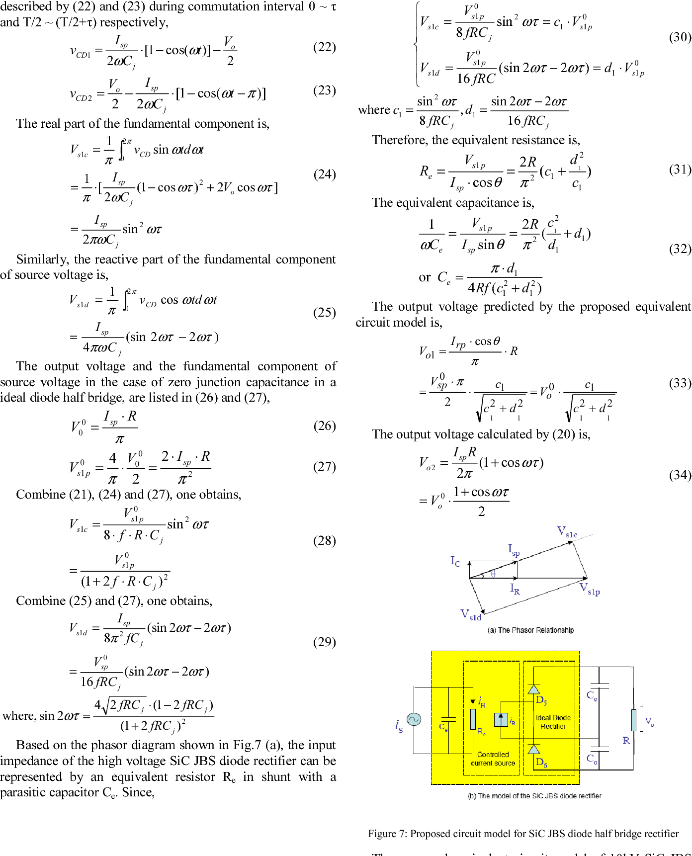 Modeling Of The Impact Diode Junction Capacitance On High Voltage Multiplier With Diodes And Capacitors Frequency Rectifiers Based 10kv Sic Jbs Semantic Scholar