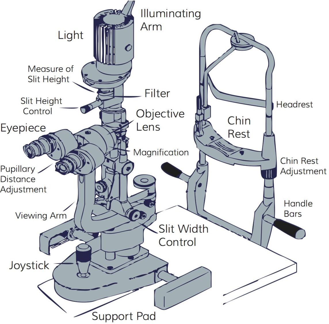 How to conduct a slit lamp examination semantic scholar figure 1 mozeypictures Gallery