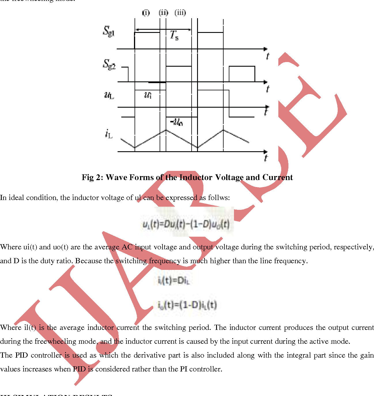 Analysis Of Pwm Controlled Buck Boost Ac Voltage Regulator With Current Booster Figure 2