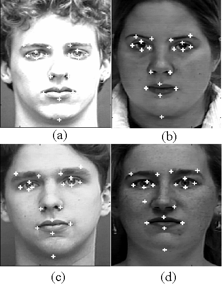 Facial feature point detection