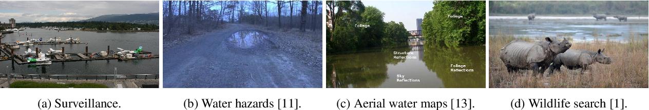 Figure 1 for Water Detection through Spatio-Temporal Invariant Descriptors