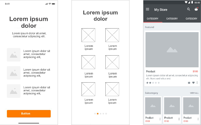 Figure 4 for VINS: Visual Search for Mobile User Interface Design