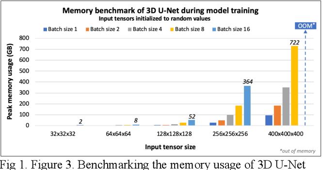 Figure 1 for Addressing the Memory Bottleneck in AI Model Training