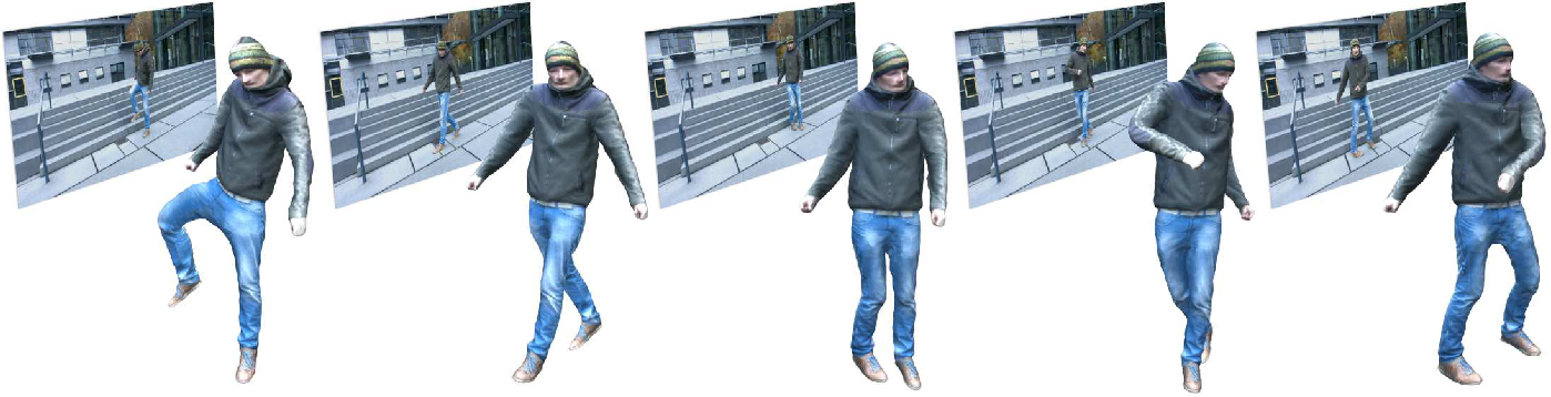 Figure 1 for MonoPerfCap: Human Performance Capture from Monocular Video