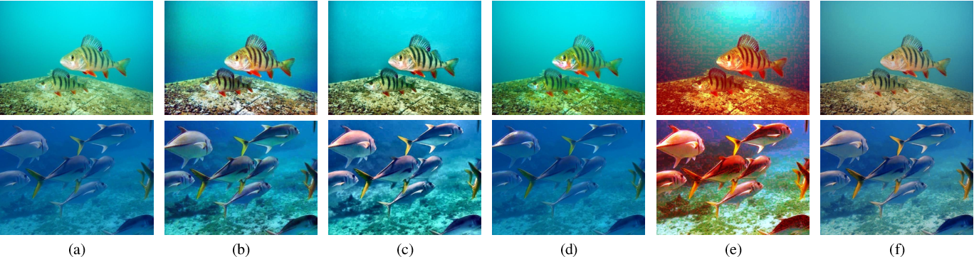 Figure 1 for Twice Mixing: A Rank Learning based Quality Assessment Approach for Underwater Image Enhancement