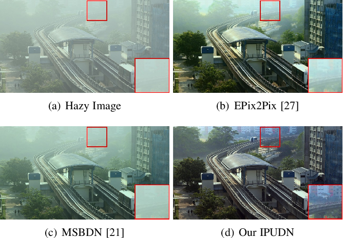 Figure 3 for Transmission Map and Atmospheric Light Guided Iterative Updater Network for Single Image Dehazing