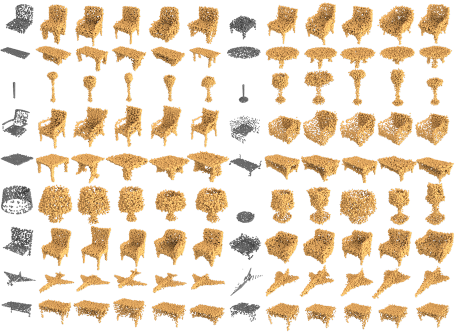 Figure 4 for Multimodal Shape Completion via Conditional Generative Adversarial Networks