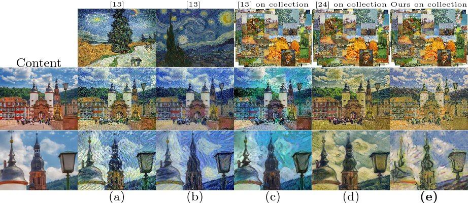 Figure 3 for A Style-Aware Content Loss for Real-time HD Style Transfer