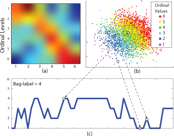 Figure 3 for Multi-Instance Dynamic Ordinal Random Fields for Weakly-supervised Facial Behavior Analysis