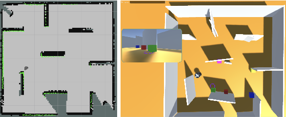 Figure 2 for Situated Multimodal Control of a Mobile Robot: Navigation through a Virtual Environment