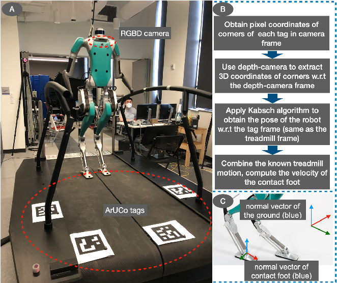 Figure 1 for Invariant Filtering for Bipedal Walking on Dynamic Rigid Surfaces with Orientation-based Measurement Model