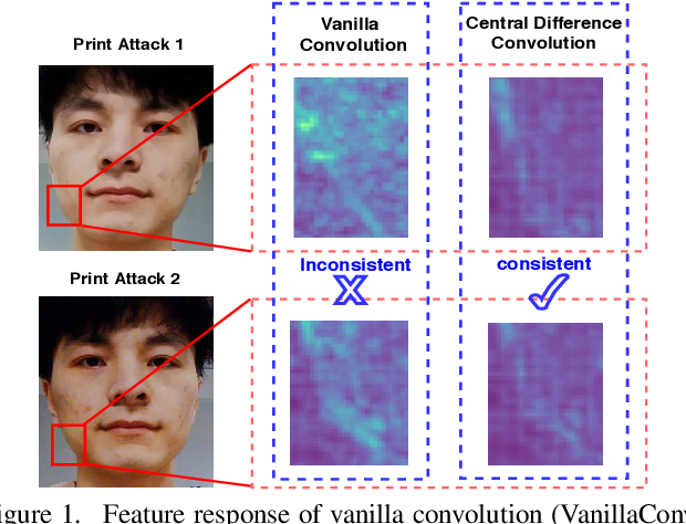 Figure 1 for Searching Central Difference Convolutional Networks for Face Anti-Spoofing