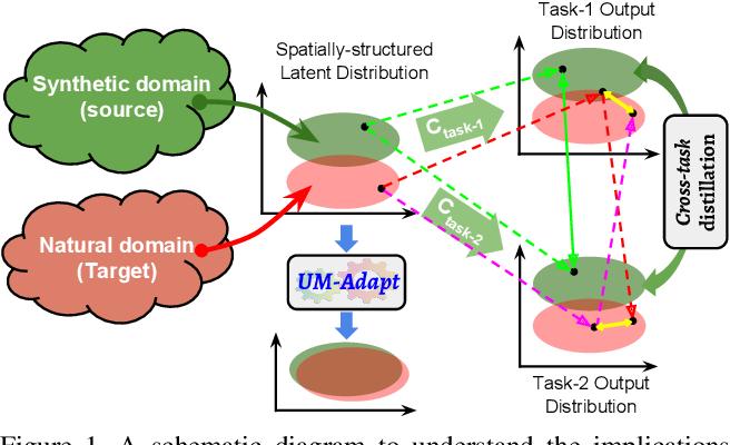 Figure 1 for UM-Adapt: Unsupervised Multi-Task Adaptation Using Adversarial Cross-Task Distillation