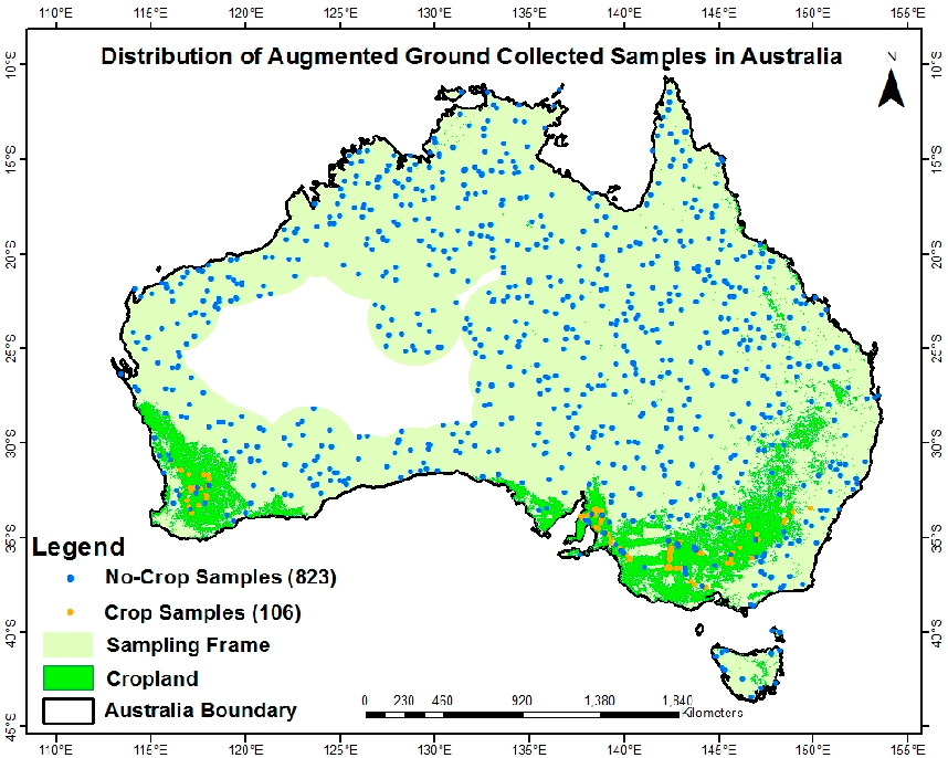 Australia Global Map.Figure 12 From Cropland Maps Such As Global Map Of Irrigation Areas