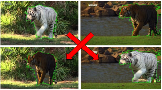 Figure 1 for Recovering Spatiotemporal Correspondence between Deformable Objects by Exploiting Consistent Foreground Motion in Video