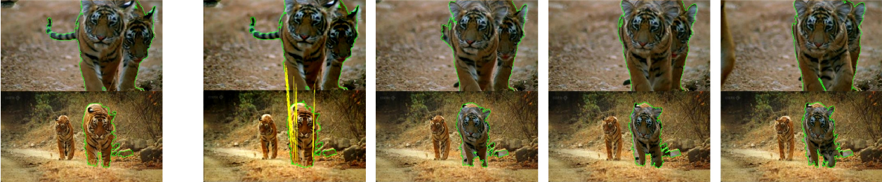Figure 2 for Recovering Spatiotemporal Correspondence between Deformable Objects by Exploiting Consistent Foreground Motion in Video
