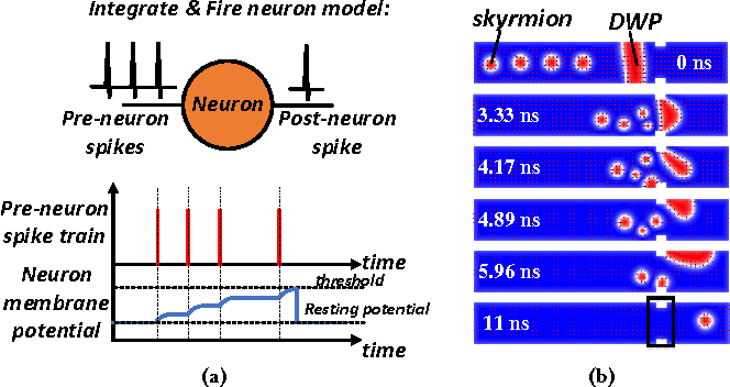 Figure 2 for Developing All-Skyrmion Spiking Neural Network