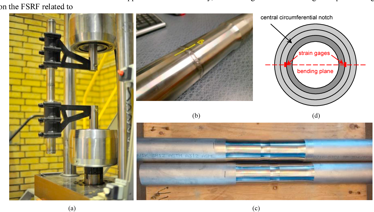 Experimental study of weld fatigue strength reduction for a
