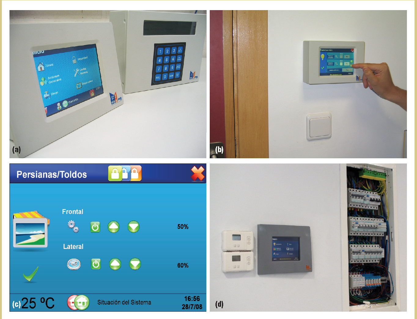 An Integral and Networked Home Automation Solution for Indoor ...