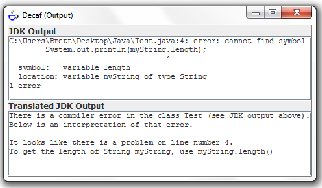 An Effective Approach To Enhancing Compiler Error Messages