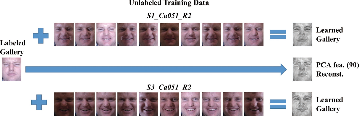 Figure 4 for Semi-Supervised Sparse Representation Based Classification for Face Recognition with Insufficient Labeled Samples