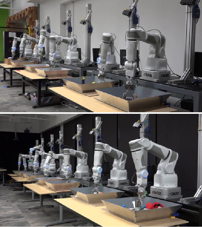 Figure 1 for Learning Hand-Eye Coordination for Robotic Grasping with Deep Learning and Large-Scale Data Collection