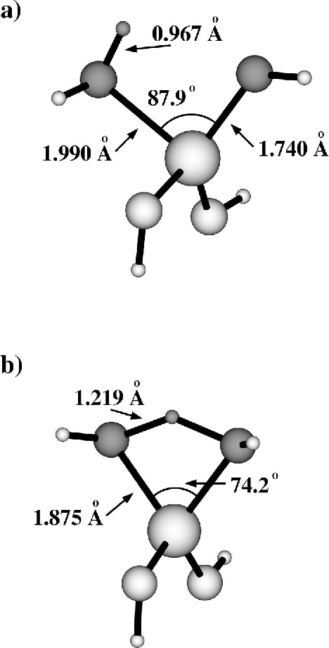 Figure 1 From Modeling Proton Mobility In Acidic Zeolite Clusters I