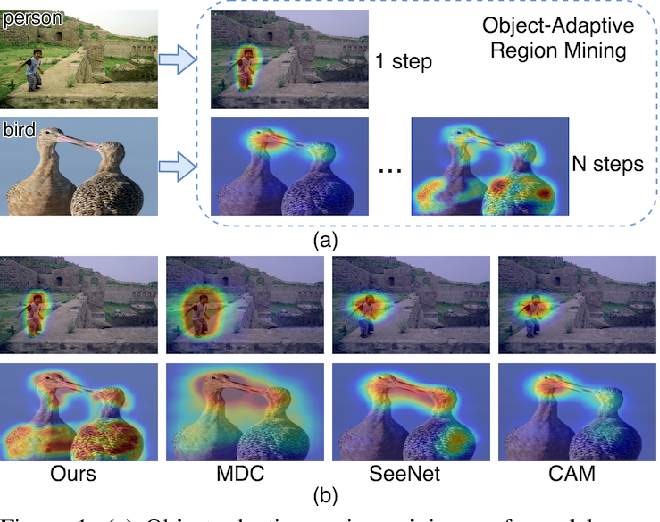 Figure 1 for Multi-Miner: Object-Adaptive Region Mining for Weakly-Supervised Semantic Segmentation