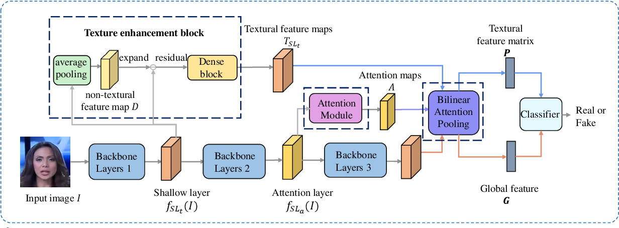 Figure 3 for Multi-attentional Deepfake Detection