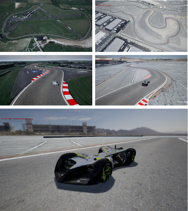 Figure 1 for Learn-to-Race: A Multimodal Control Environment for Autonomous Racing