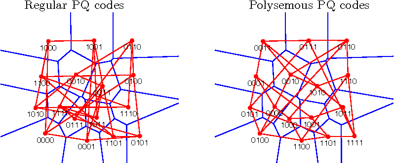 Figure 1 for Polysemous codes