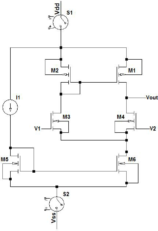 Figure 3 for A Neuron Based Switch: Application to Low Power Mixed Signal Circuits