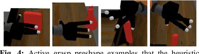 Figure 4 for Multi-Fingered Active Grasp Learning