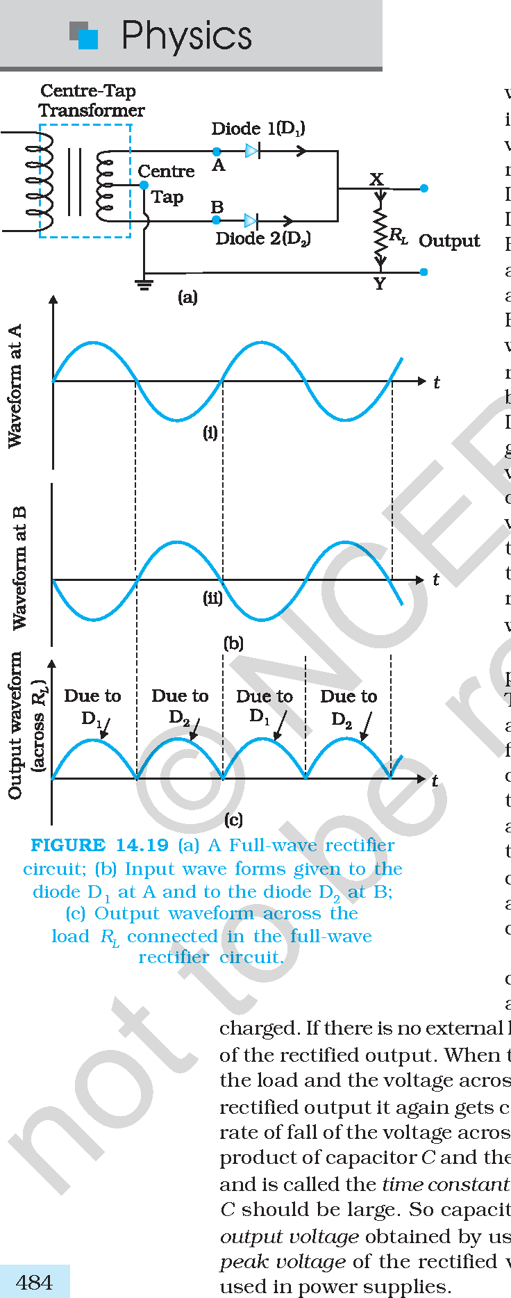 Figure 1419 From Chapter 14pmd Semantic Scholar Full Wave Rectifier Circuit A B Input